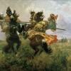 Авилов М.И., Поединок Пересвета и Челубея. 1943