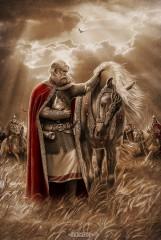 Вещий Олег. Прощание с конём