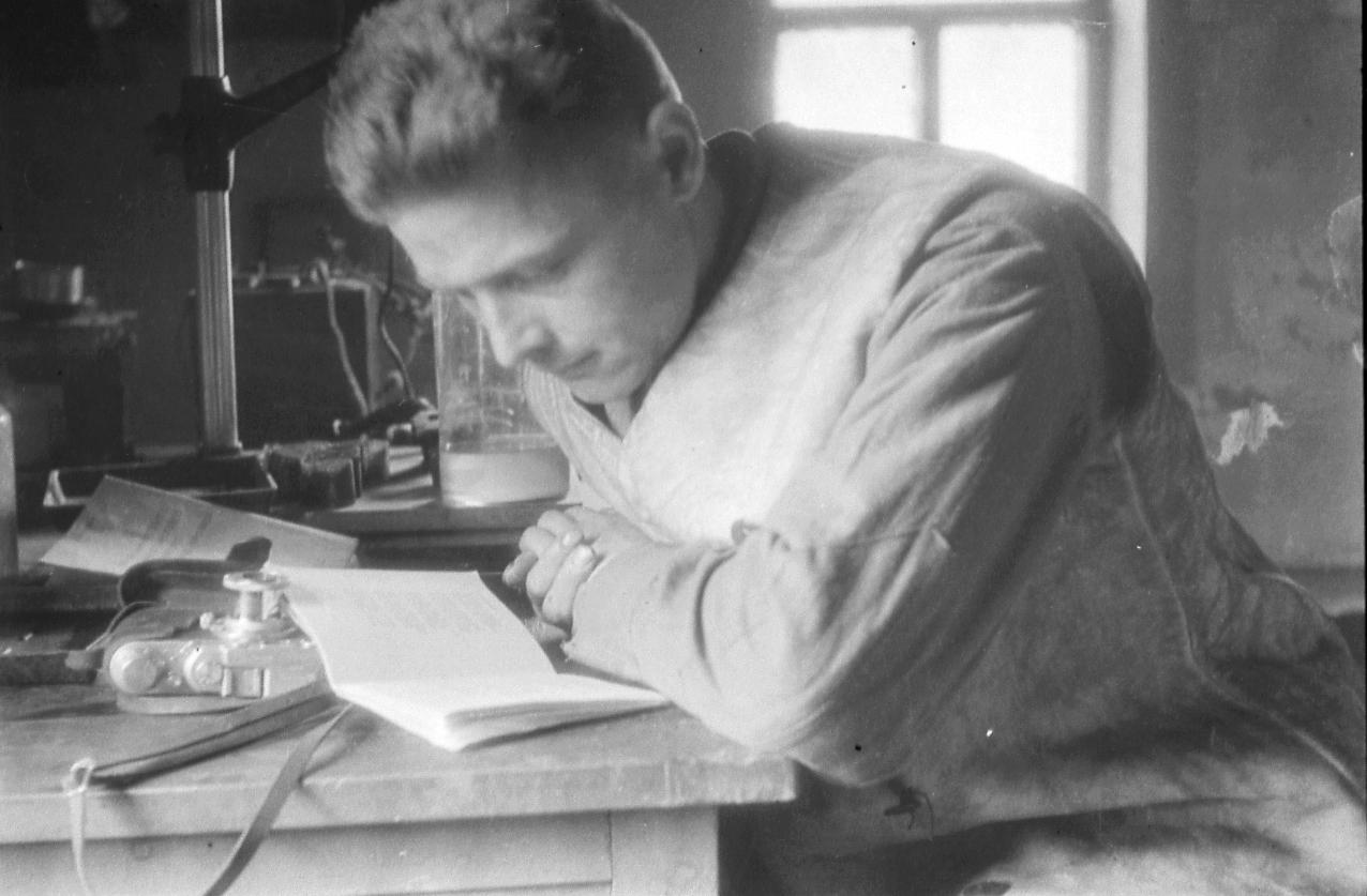 32. Булычев зимой 1943