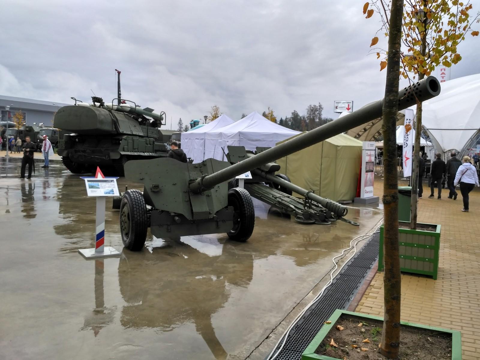 100-мм противотанковая пушка 2А29 «Рапира»