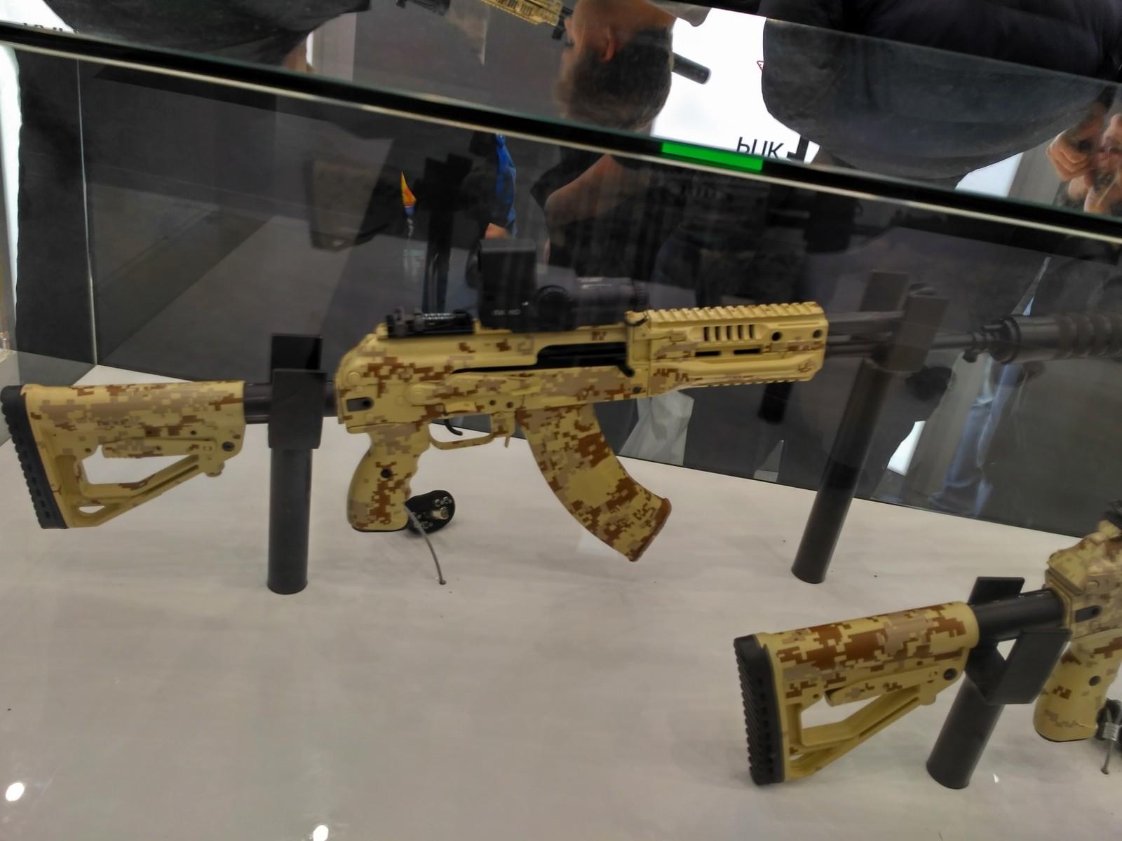 Автомат АК-15 под патрон 7,62х39 от концерна «Калашников»