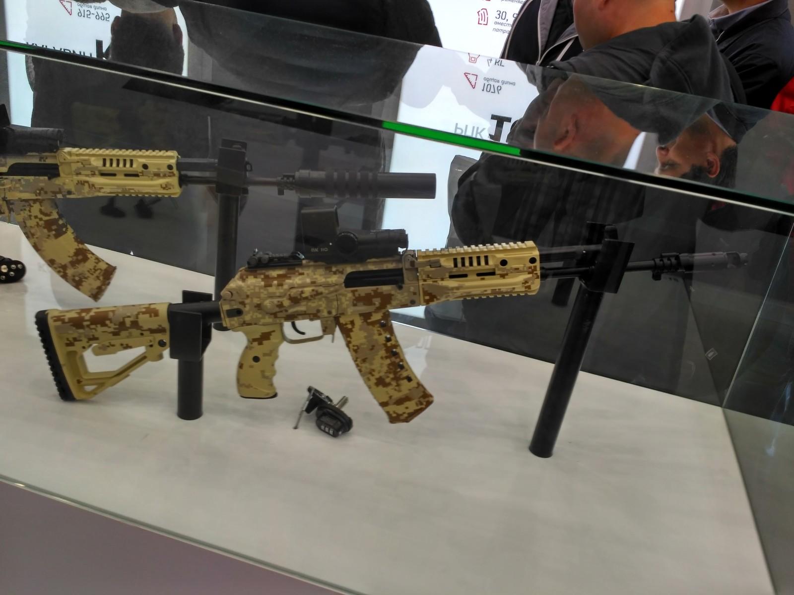 Автомат АК-12 под патрон 5,45х39 от концерна «Калашников»