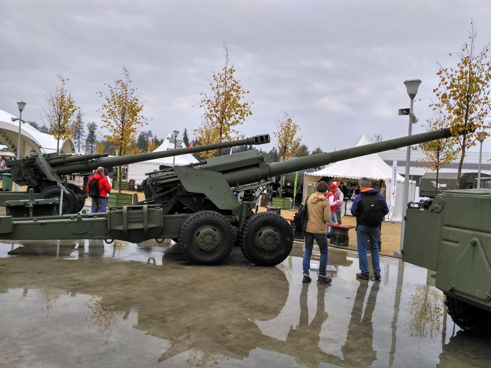 152-мм буксируемая пушка 2А36 «Гиацинт-Б»