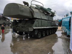 Самоходный зенитный ракетный комплекс 9К37 «Бук»