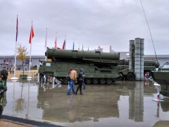 Зенитная ракетная система С-300В «Антей-300»
