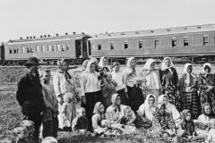 Большинство переселенцев приезжало в Сибирь по железной дороге