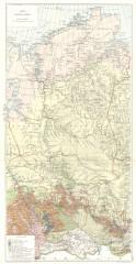 Переселенческая карта Енисейской губернии