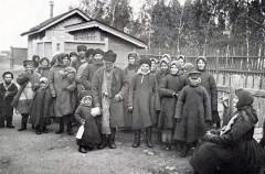 Группа переселенцев из Рязанской губернии