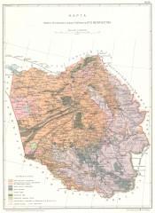 Переселенческая карта Алтая