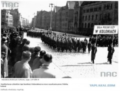 Демонстрация с требованием колоний для Польши 2