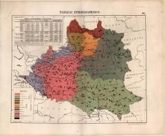 Этническая карта 1858 г.