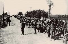 Пленные красноармейцы, после Варшавской битвы