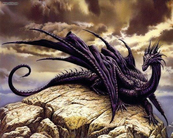 Ярмарка Мастеров - ручная работа НАБОР для вышивки БИСЕРОМ ''Черный дракон.