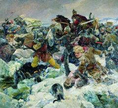 Серов В.А., Ледовое побоище. 1942 г.