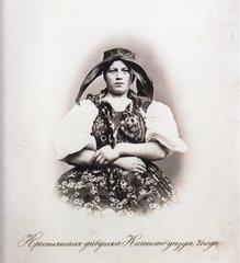 Крестьянская девушка, Кольского уезда, 21 год.