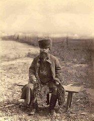Крестьянин Тульской губернии. Фото Ж.Рауля, 1870-е.