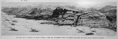 Панорама Трапезундской операции 29 апреля 1916 г.