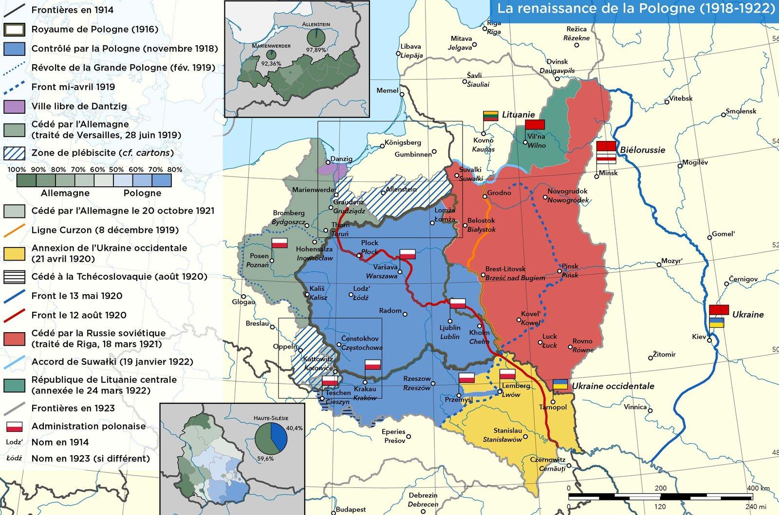 Польша 1918-22 гг.