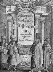 Олеарий Адам, Описание путешествия Голштинского посольства в Московию и Персию с гравюрами.