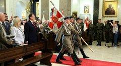 Празднование 75-летия образования Свентокшиской бригады.