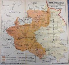 Польша. Население на 1914 год.