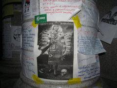 """""""Смерть московским оккупантам"""", листовка, Майдан, ноябрь 2013 года."""