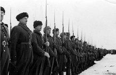 Солдаты армии Андерса ноябрь-декабрь 1941 года.