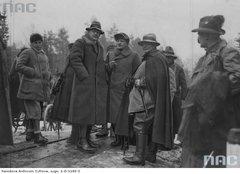 Геринг и президент Польши Мосцицкий на охоте в Беловежской Пуще.