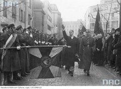 Дружественный визит итальянского фашиста Джана Галеаццо Чиано в Польшу.