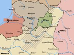 Литва и Польша после Первой мировой войны и похода Желиговского на Вильно