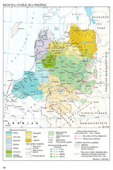 Балтийские племена в 13 в.