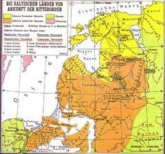Прибалтийские племена