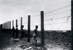 Русские дети в финском концлагере.
