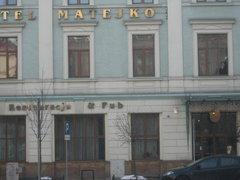 Отель Матейко в Кракове.JPG