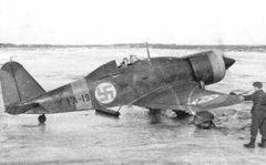 Финский истребитель итальянского производства FA-19.