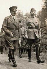 Адольф Гитлер и Карл Густав Маннергейм. 6 июня 1942 г.