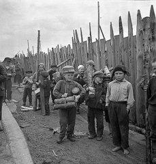 Концентрационный лагерь в Петрозаводске, 1943 г.