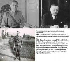 Финские военные преступники, избежавшие наказания