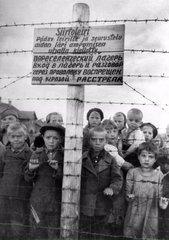 Фотография концлагеря, располагавшегося в Петрозаводске.