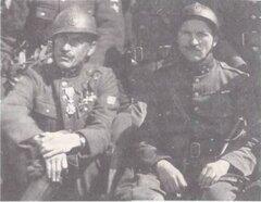 Бойцы Бельгийского бронедивизиона, Юго-Западный фронт, 1916 г.