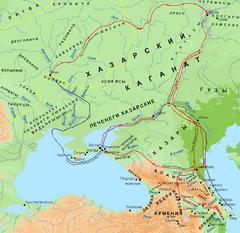 Хазария в VIII—X вв.