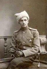 Прапорщик Андрей Соммер, Киев, 1914 г.