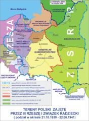 Раздел Польши в 1939 г.