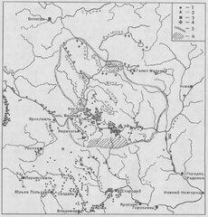 Костромское Поволжье и сопредельные территории в  средневековье.