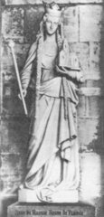 Анна Русская - королева Франции (Anne de Russie Reine de France). Senlis (Санлис))