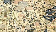 Россия (Красная, Белая, Чёрная) на карте Фра Мауро, 1459 г.