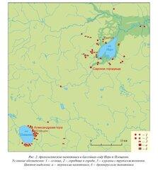 Археологические памятники в районе озёр Неро и Плещеево