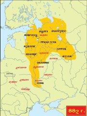 Русь в 882 г.
