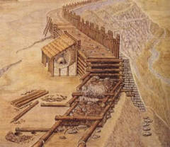 Каменная крепость VIII века. Любша, сенсация археологии