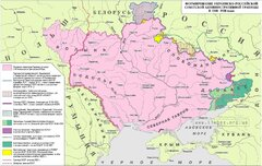 Формирование украино-российской советской административной границы в 1918 - 28 гг.
